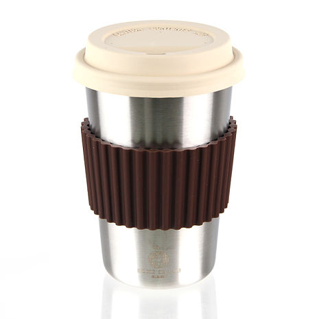 ECO CLUB 我不是紙杯(不鏽鋼杯)550ml-咖啡