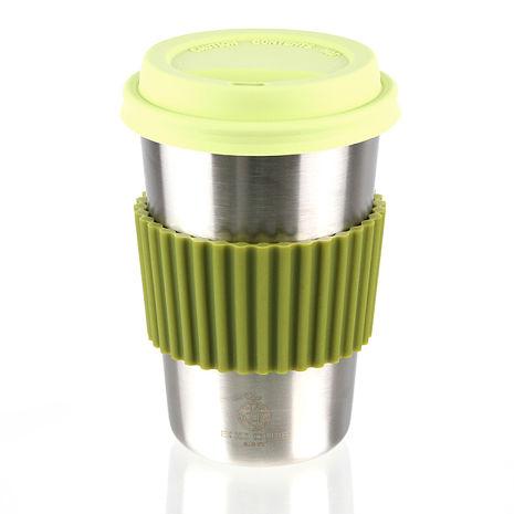 ECO CLUB 我不是紙杯(不鏽鋼杯)550ml-綠色