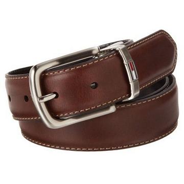 Tommy Hilfiger 2012男時尚經典雙面使用皮帶★預購32