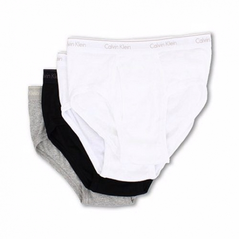 【CK】2014男時尚Hip黑灰白色混搭三角內著4件組(預購)