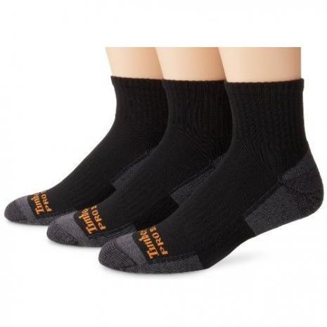 Timberland 2015男時尚墊層低切舒適黑灰雙色襪子3入組(預購)