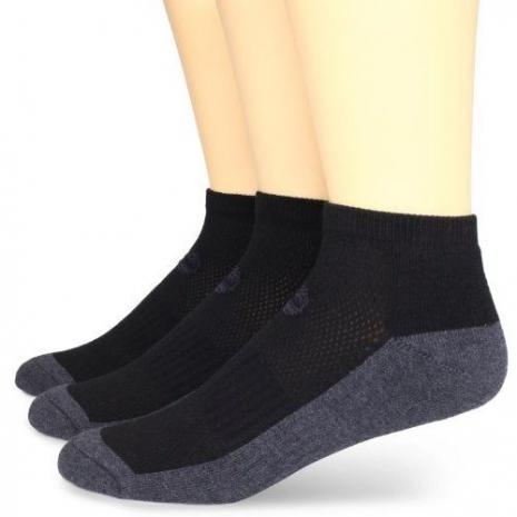 Timberland 2015男時尚騎車墊層黑灰雙色襪子3入組(預購)-服飾‧鞋包‧內著‧手錶-myfone購物