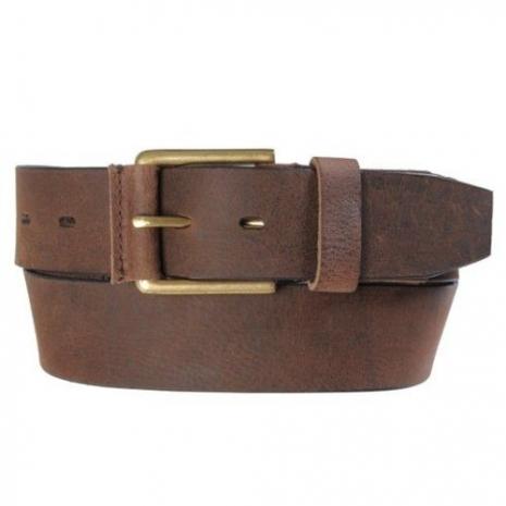 Timberland 2015男時尚休閒仿舊風格褐色皮帶★預購32