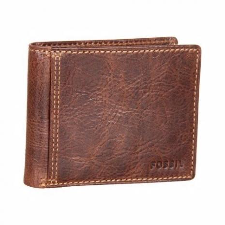 【Fossil】2014男時尚Ingram旅行者仿舊棕色皮夾★預購-服飾‧鞋包‧內著‧手錶-myfone購物