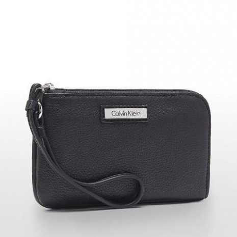 【Calvin Klein】2015女時尚黑色拉鍊腕飾手抓包★預購-服飾‧鞋包‧內著‧手錶-myfone購物