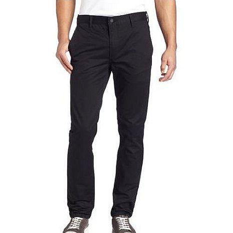 【Levi's】511 時尚黑色彈力修身合體斜紋褲★預購34