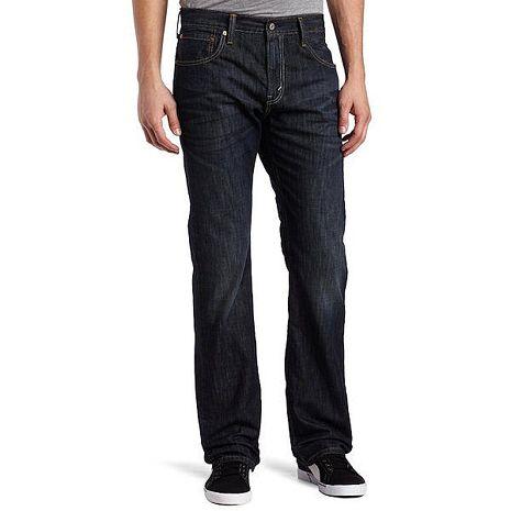 【Levi's】527經典修身靴形安迪藍牛仔褲★預購