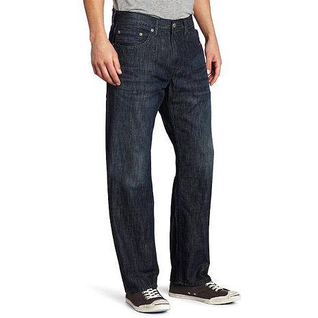 【Levi's】559經典寬鬆直腿魅力安迪藍牛仔褲★預購29