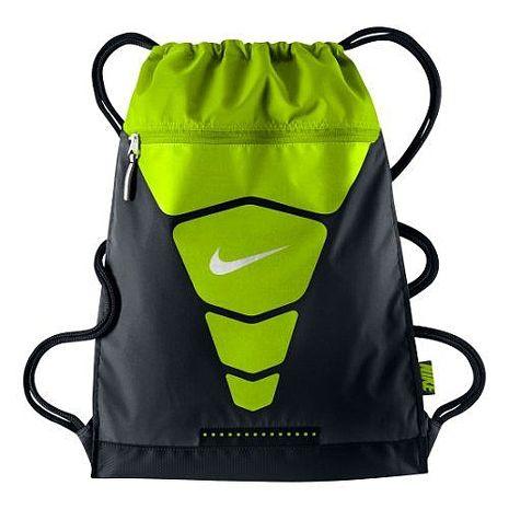 【Nike】2015時尚汽Vapor健身黑綠色後背包★預購