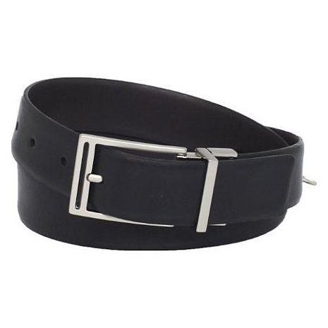 【CK】2013男時尚造型扣頭黑色皮帶★預購