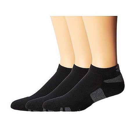 Under Armour 2016男時尚HeatGear黑色低切運動襪3件組★預購-服飾‧鞋包‧內著‧手錶-myfone購物