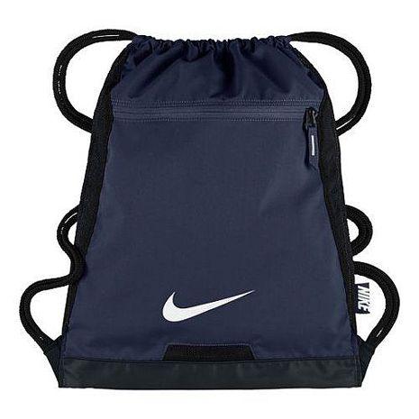 【Nike】2017時尚阿爾法Alpha健身深藍色束口後背包★預購