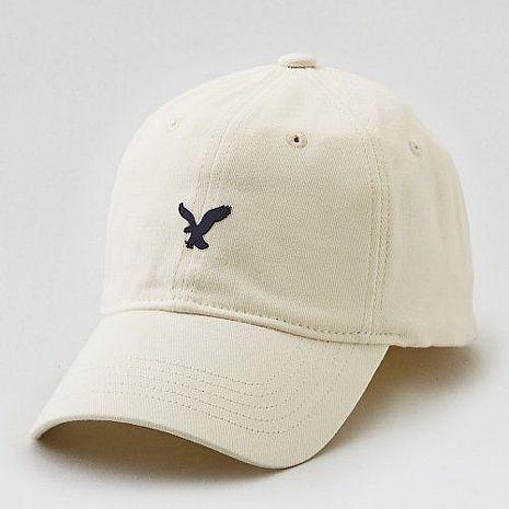 【American Eagle 】2017男時尚小老鷹刺繡粉筆色棒球帽 ★預購L/XL