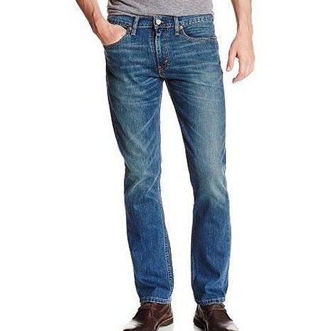 【Levi's】2017男時尚511Throttle修身藍色彈力牛仔褲★預購