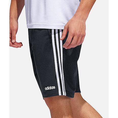 【Adidas】2019男時尚Tricot黑色運動短褲★預購