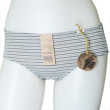 【黛安芬】Eco Chic裸紗原棉生理褲 兩件組(M-EL號) 棕+綠M