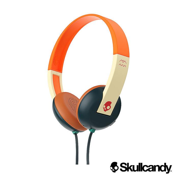Skullcandy 骷髏糖 Uproar阿波羅 小耳罩式耳機-綠橘紅色(公司貨)
