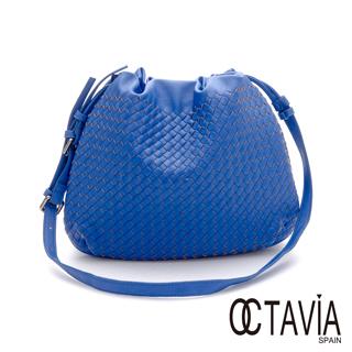 OCTAVIA 8 - 十七歲編織斜背漁夫包 - 冒險藍