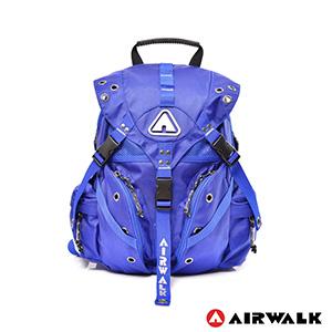 AIRWALK - Life is color 繽紛生活三叉扣彩色迷你後背包 - 繽紛藍-服飾‧鞋包‧內著‧手錶-myfone購物