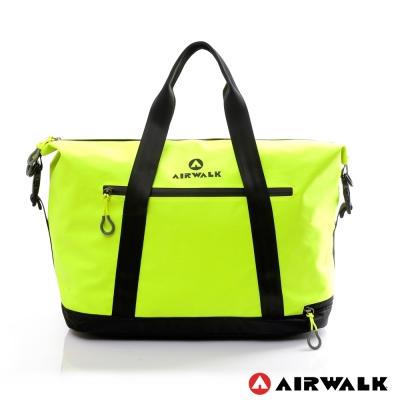 AIRWALK - 無感式 輕量防潑水旅行包 - 亮眼黃