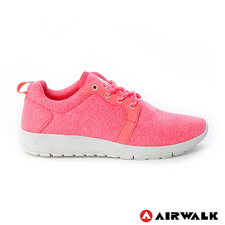 AIRWALK(女) - 無限挑戰舒適輕量慢跑鞋 - 螢橘-服飾‧鞋包‧內著‧手錶-myfone購物