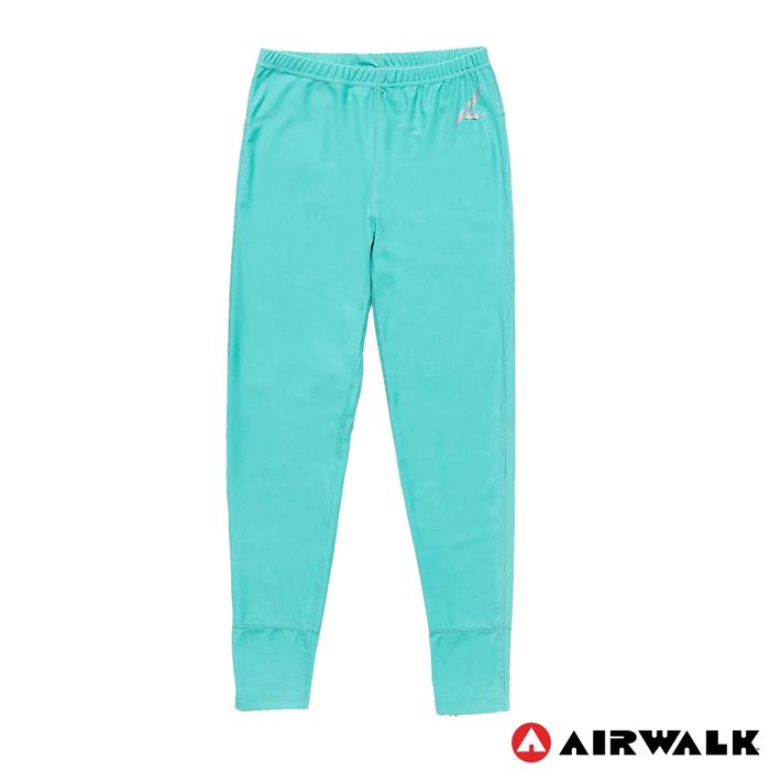 AIRWALK(女) - 運動緊身長褲 - 螢光綠