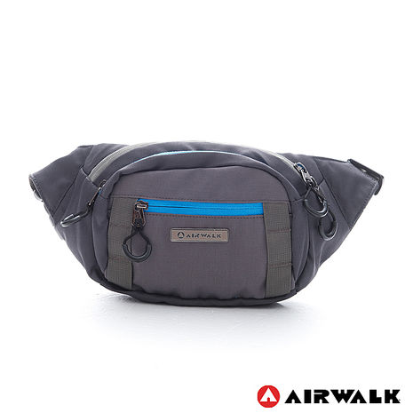 AIRWALK - 灰色地帶 走跳系列腰包 - 層次灰-服飾‧鞋包‧內著‧手錶-myfone購物