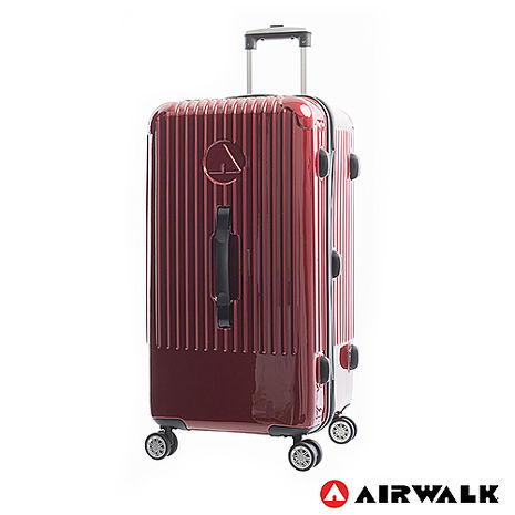 AIRWALK LUGGAGE - 旗艦系列 方塊之舞28吋大行李箱 - 紅