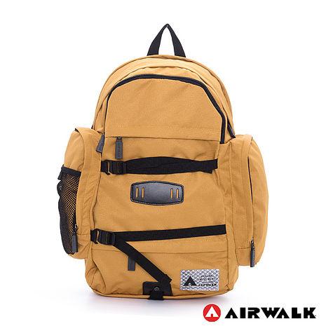 AIRWALK - 露營野趣 保冷保溫三層袋輕量後背包 - 朝聖黃