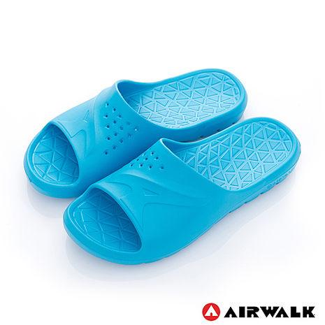 AIRWALK - AB拖 For your JUMP 超彈力防水輕量EVA拖鞋 - 陽光藍5號