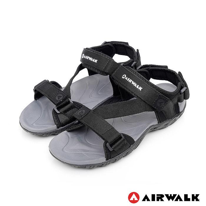 AIRWALK-舒適運動涼鞋-黑