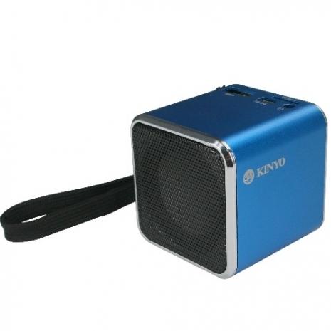 【KINYO】音樂盒讀卡喇叭(MPS-372)-3C電腦週邊-myfone購物