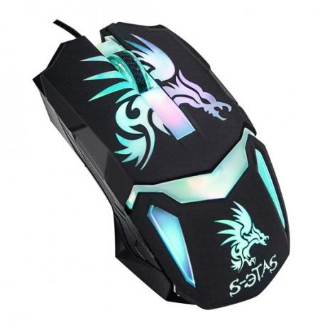 【KINYO】幻翼之刃炫彩電競滑鼠(GKM-805)