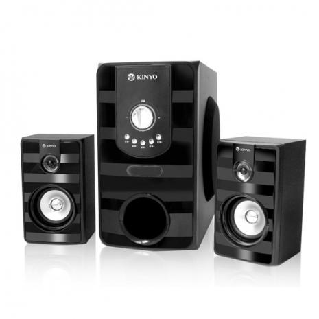 【KINYO】2.1聲道重低音音箱(KY-7380)-3C電腦週邊-myfone購物