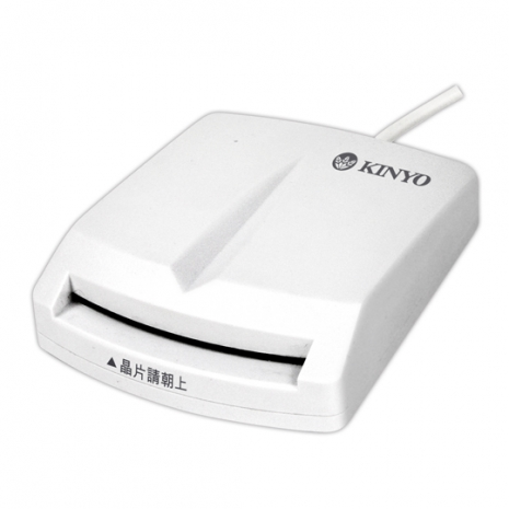 KINYO 晶片讀卡機(KCR-350)
