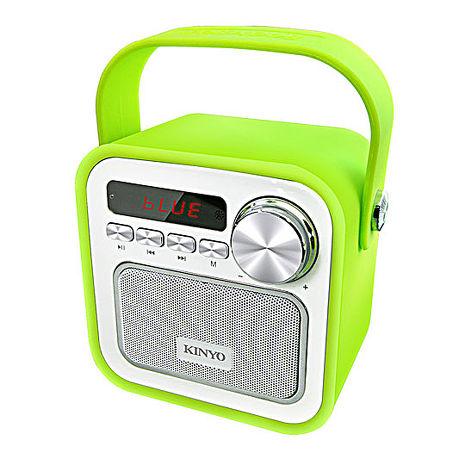 【KINYO】繽紛亮彩藍牙手提喇叭(BTS-691)-3C電腦週邊-myfone購物