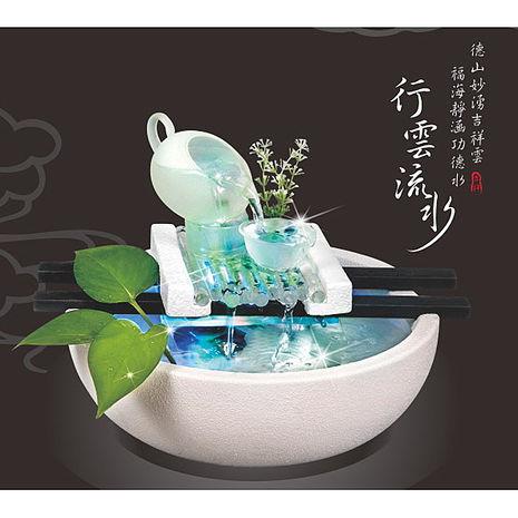 【KINYO】流水飾品-行雲流水(GAR-6008)