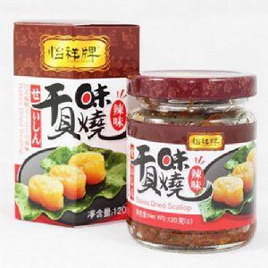 【幸福小胖】香港怡祥牌味燒干貝(辣味)3罐