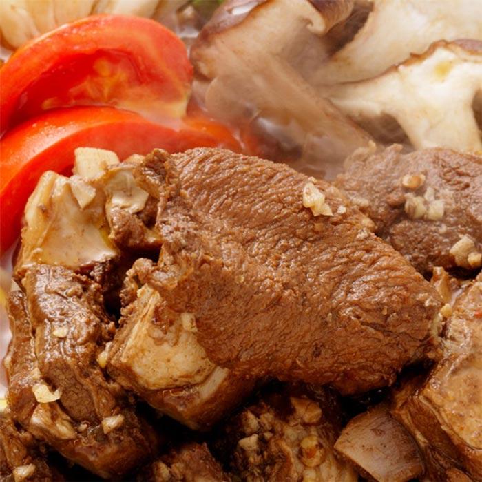【幸福小胖】小羔羊半筋半肉鍋 4盒 (1200g/含肉重400g/盒)
