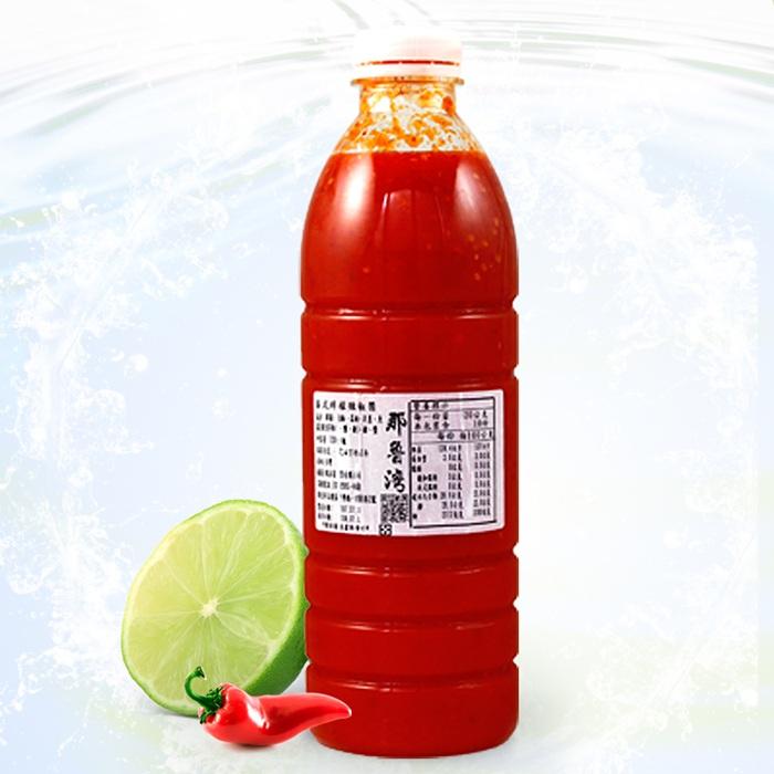 【那魯灣】泰式檸檬辣椒醬家庭罐 1罐(100%純檸檬汁不加水/1100g/罐)