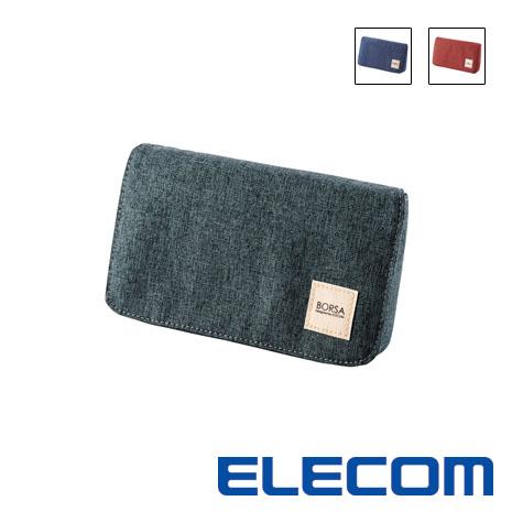 ELECOM ELECOM多口袋小巧收納包 M 多色任選