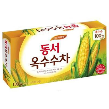 【DONGSUH】韓國原裝明星最愛玉米鬚茶(10g/15包)-戶外.婦幼.食品保健-myfone購物