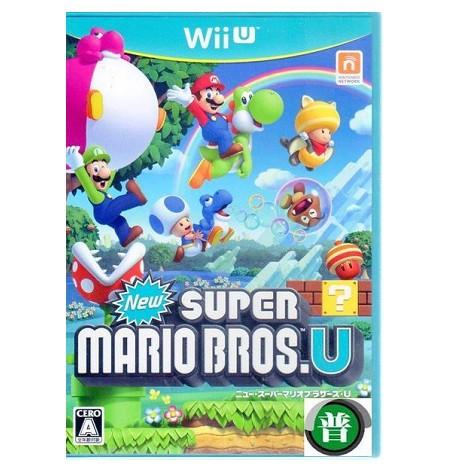 Wii U New 超級瑪利歐兄弟 U日文版