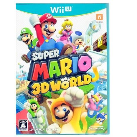 Wii U 遊戲 超級瑪利歐兄弟 超級瑪利歐 3D 世界 Super Mario 3D World 日文版