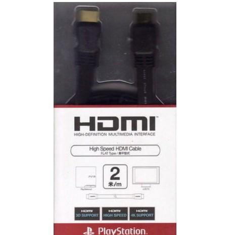 原廠 HDMI 最新規格 扁平型式 1.4a規格 支援3D 1080P 2米 PS3 X360 適用