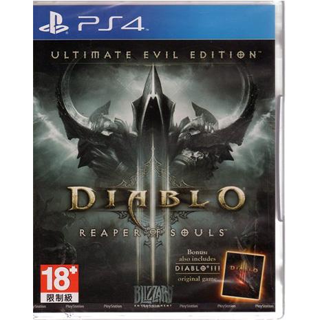 PS4 遊戲 暗黑破壞神 3 III 終極邪惡版 Diablo III 英文亞版