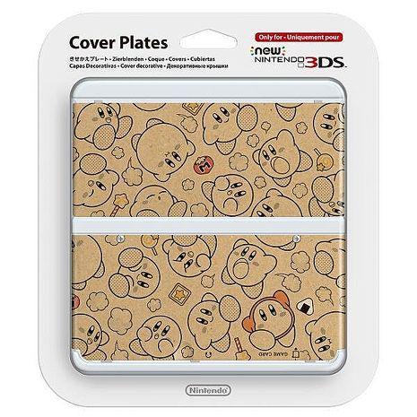 NEW 3DS專用 任天堂原廠 主機 上下 外殼 替換面板 New N3DS 卡比之星款 NO.058