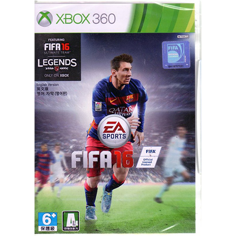 現貨中 XBOX360遊戲 國際足盟大賽 16 FIFA 16 英文亞版