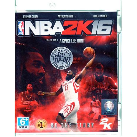 現貨中 XBOXONE遊戲 美國職業籃球 NBA 2K16 中文亞版