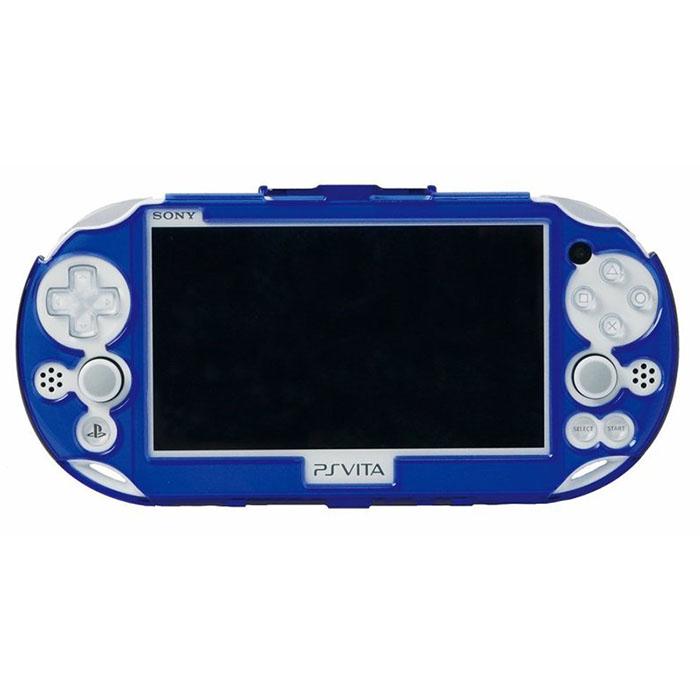 新款 PSVITA PCH-2000 專用 HORI PC材料 水晶殼 PSV-133 藍色款